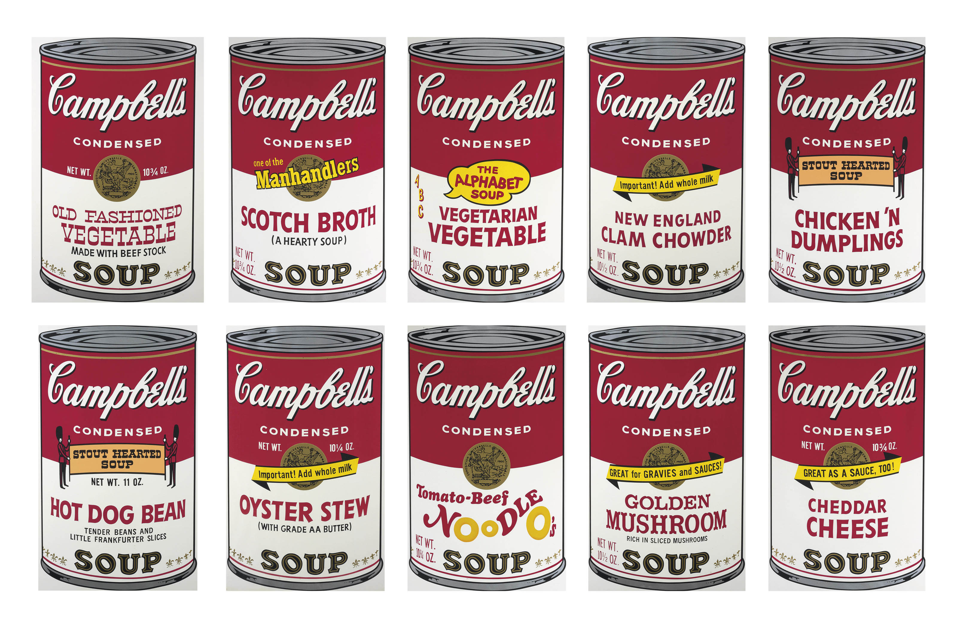 Warhol S Campbell Soup Can Painting