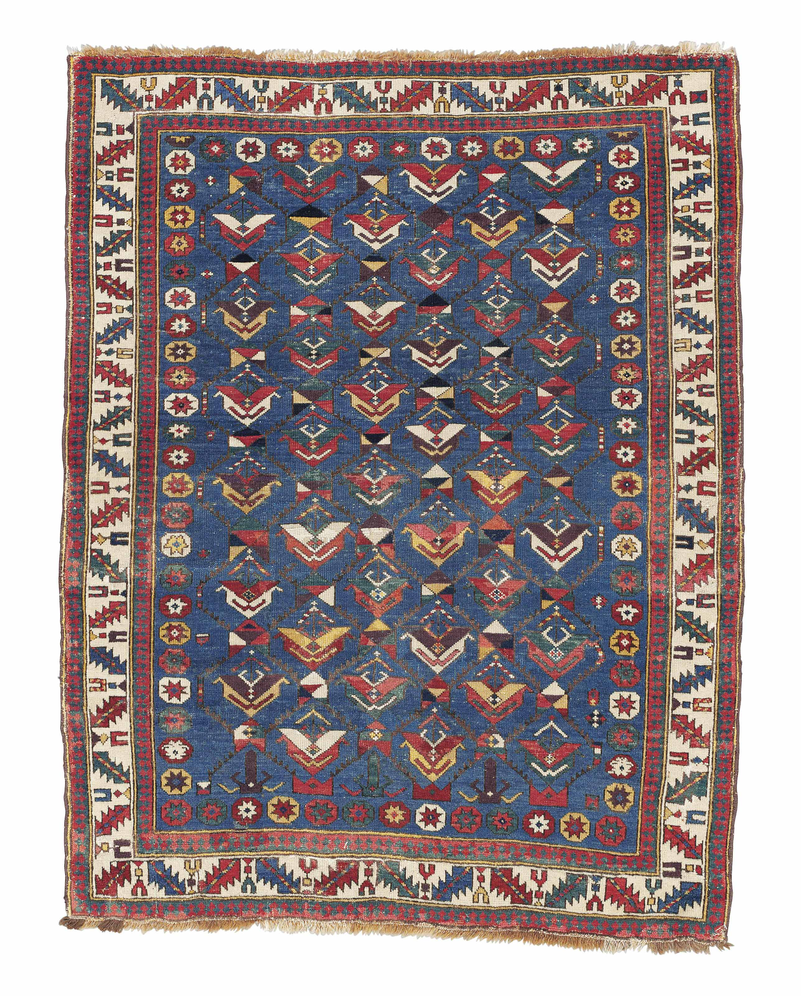 A SHIRVAN RUG , EAST CAUCASUS, EARLY 19TH CENTURY