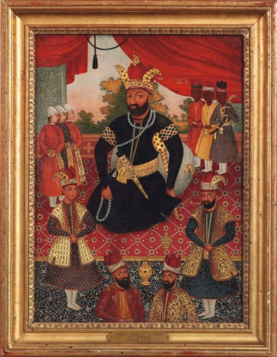 NADIR SHAH AFSHAR AND HIS COUR
