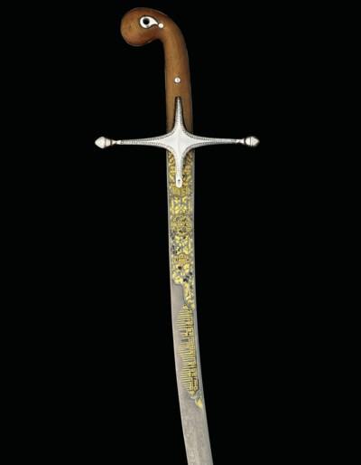 AN OTTOMAN SWORD (SHAMSHIR)