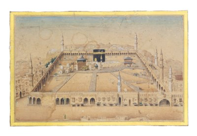 A PANORAMIC VIEW OF MECCA