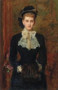 Countess de Pourtales, the former Mrs Sebastian Schlesinger