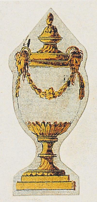 A PAIR OF GEORGE III ORMOLU AN
