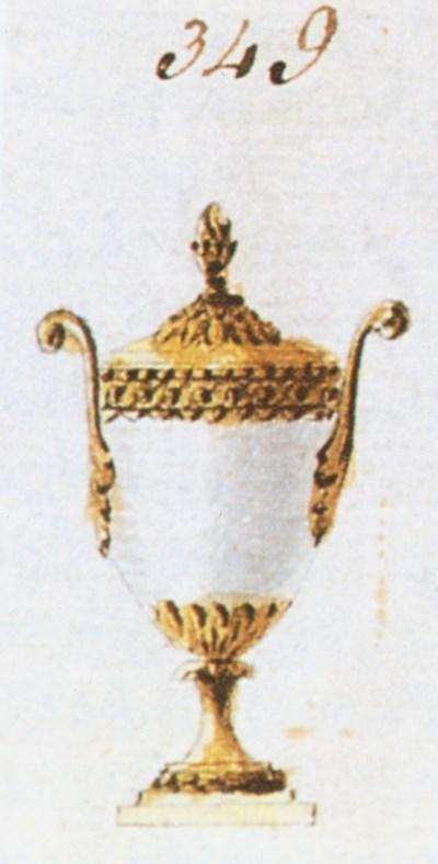 A GEORGE III ORMOLU-MOUNTED BL