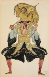 Costume design for Sleeping Beauty: The Chinese Mandarin