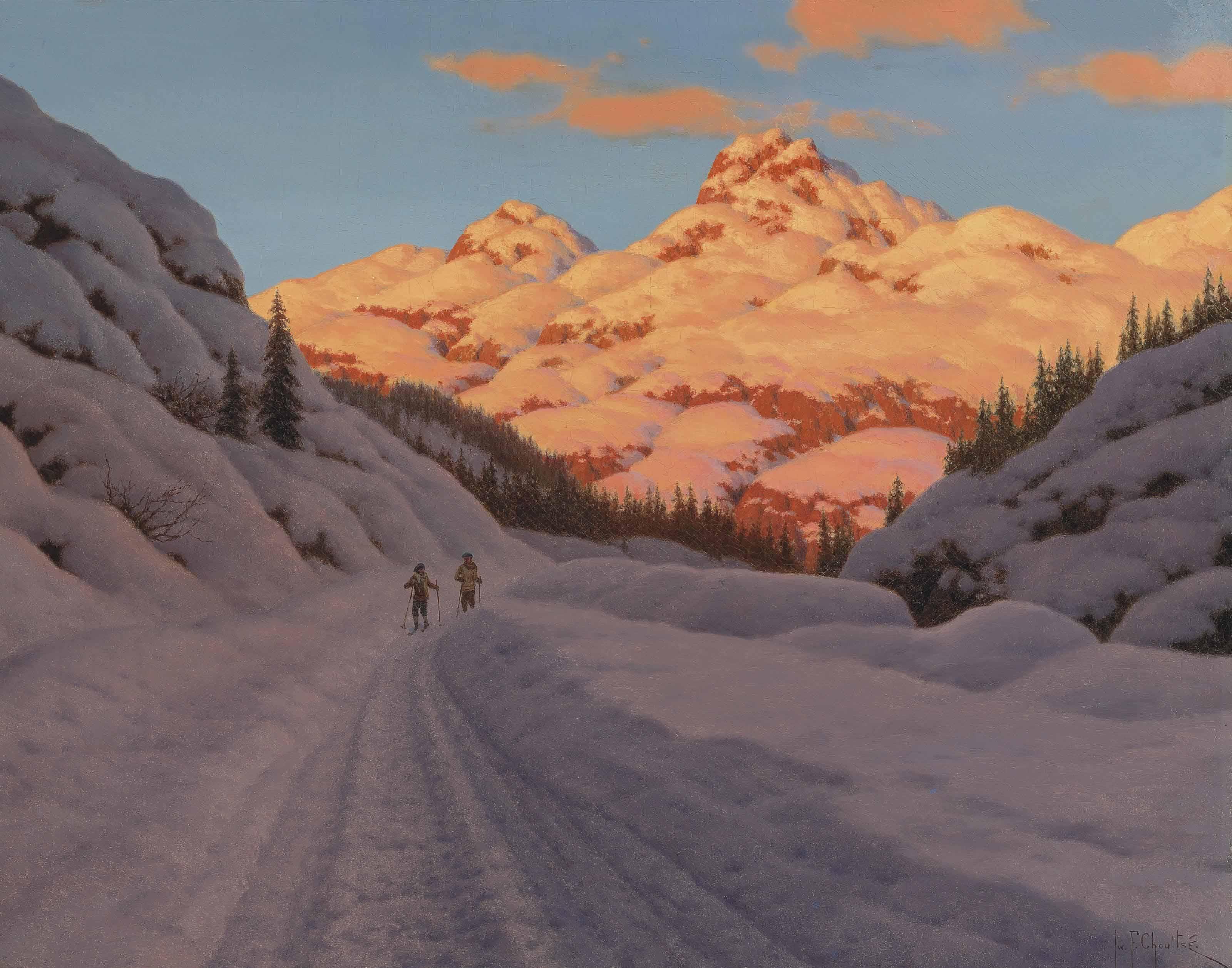 Cross-country ski-ing, Haute Savoie