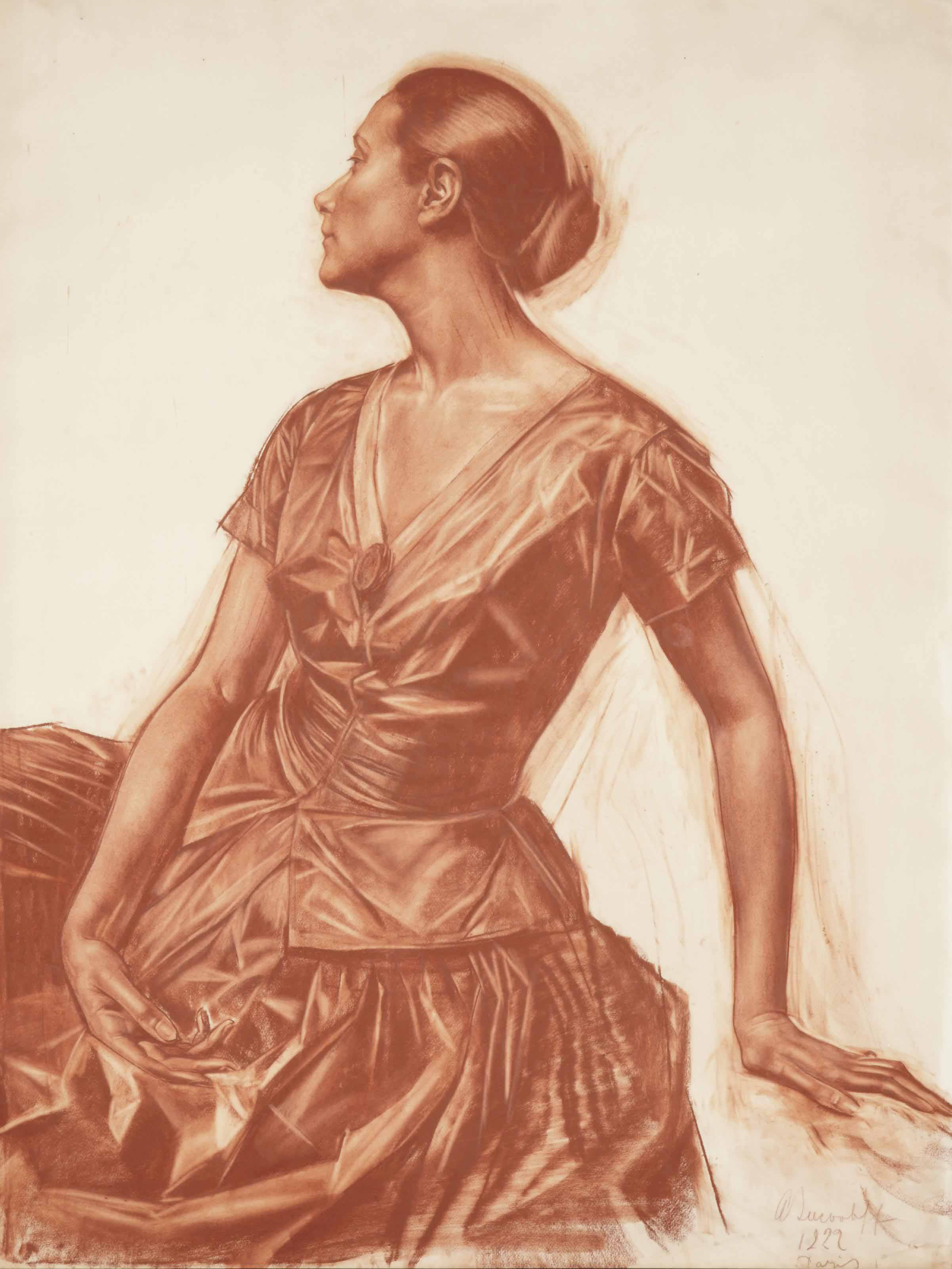 Portrait of Salomé Andronikova (1888-1982)