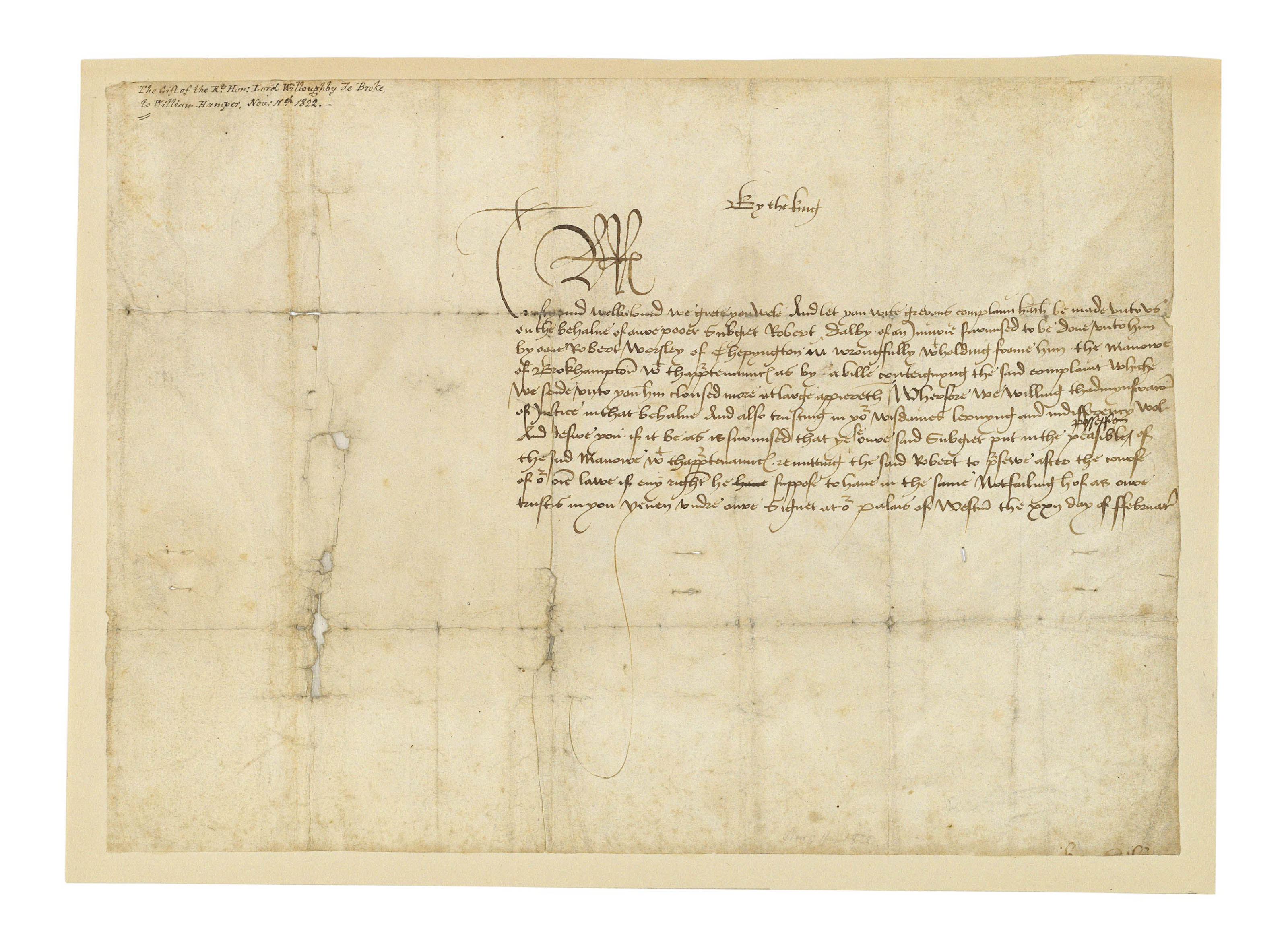 how to write a complaint letter about an employee rudeness richard iii 1452 1485 king of letter signed 1485