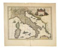 BLAEU, Willem (1571-1638) and Johannes BLAEU (1596-1673). Theatrum orbis terrarum, sive Atlas novus. Pars tertia [Volume III. Italy, Greece and the British Isles]. Amsterdam: Johannes and Cornelius Blaeu, 1640.
