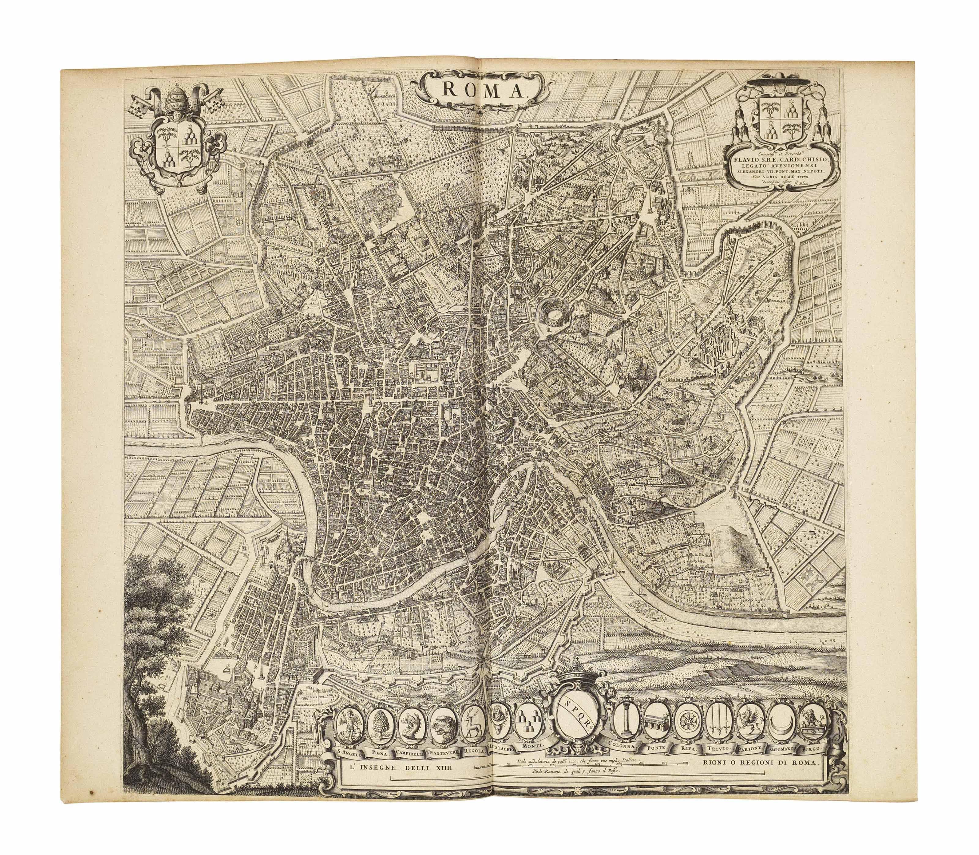 BLAEU, Johannes (1596-1673). Theatrum Civitatum et Admirandorum Italiae. Amsterdam: Johannes Blaeu, 1663.