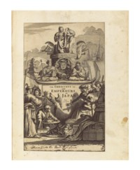 MONTANUS, Arnoldus (c.1625-1683). Atlas Japannensis: being Remarkable Addresses by way of Embassy from the East-India Company of the United Provinces, to the Emperor of Japan... English'd... By John Ogilby. London: Thomas Johnson for the author, 1670.
