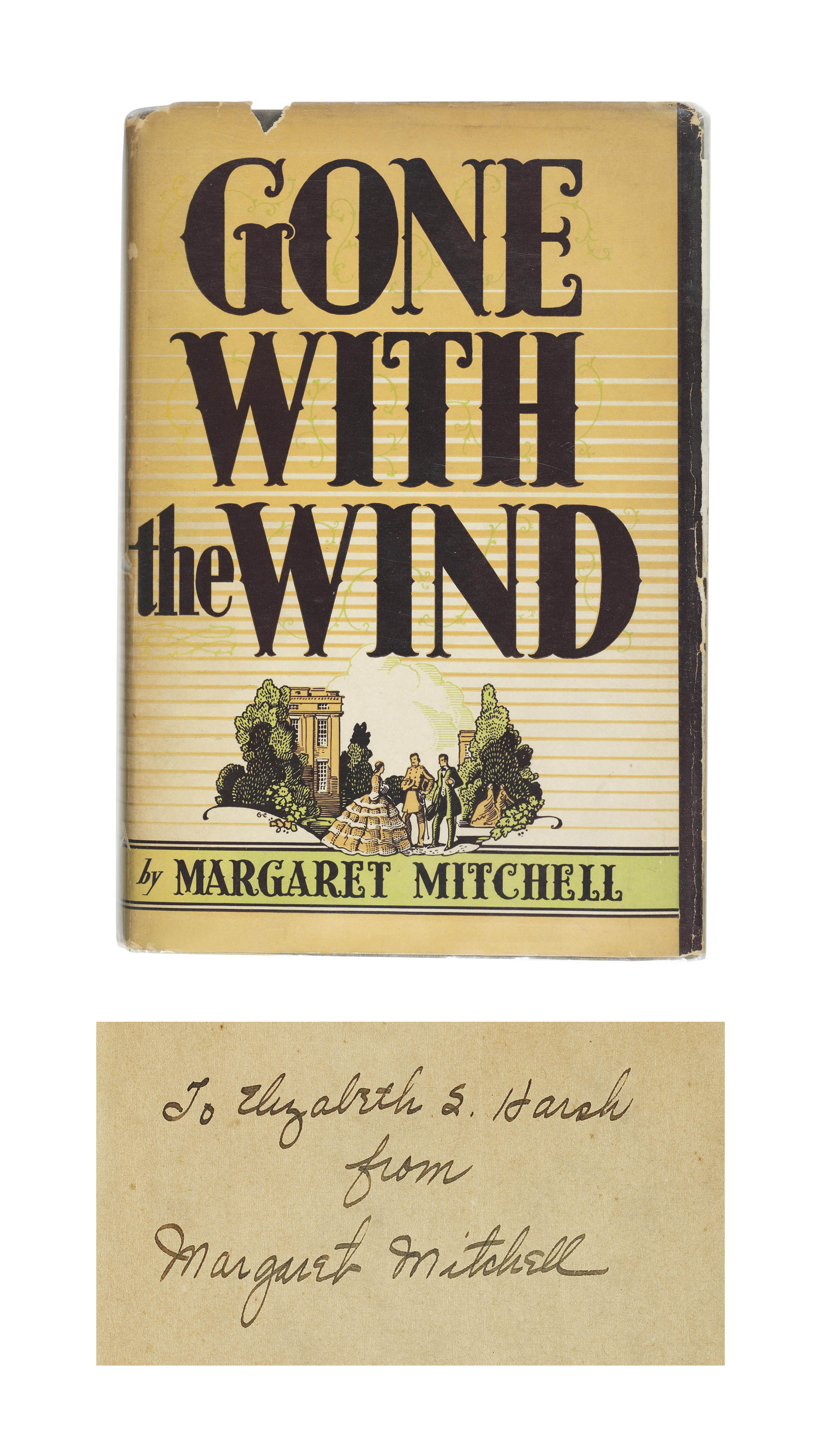 MITCHELL, Margaret (1900-49). Gone with the Wind. New York: MacMillan, 1936.