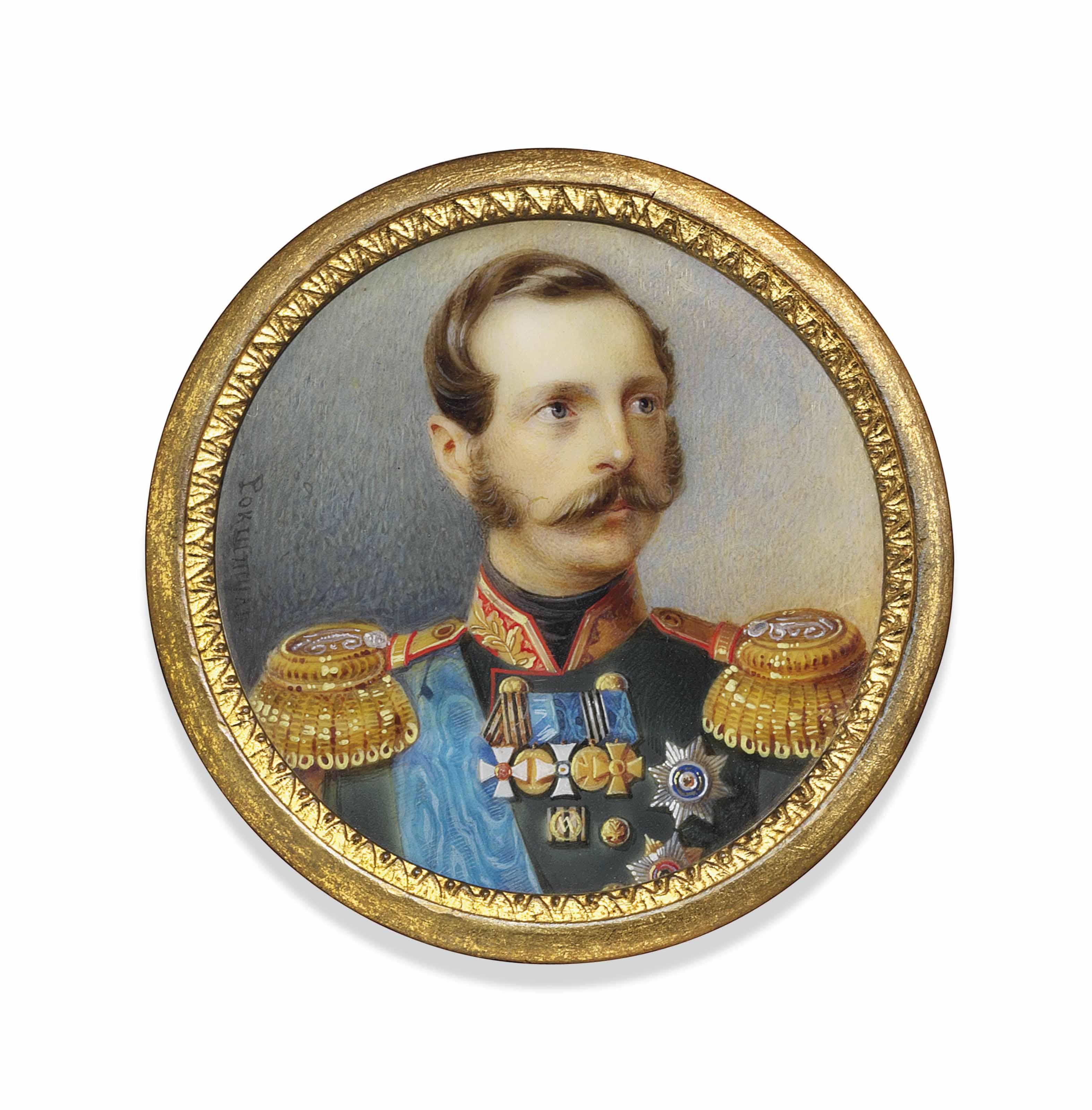 ALOIS GUSTAV ROCKSTUHL (RUSSIAN, 1798-1877)