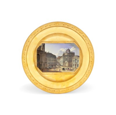 A VIENNA TOPOGRAPHICAL GOLD-GR