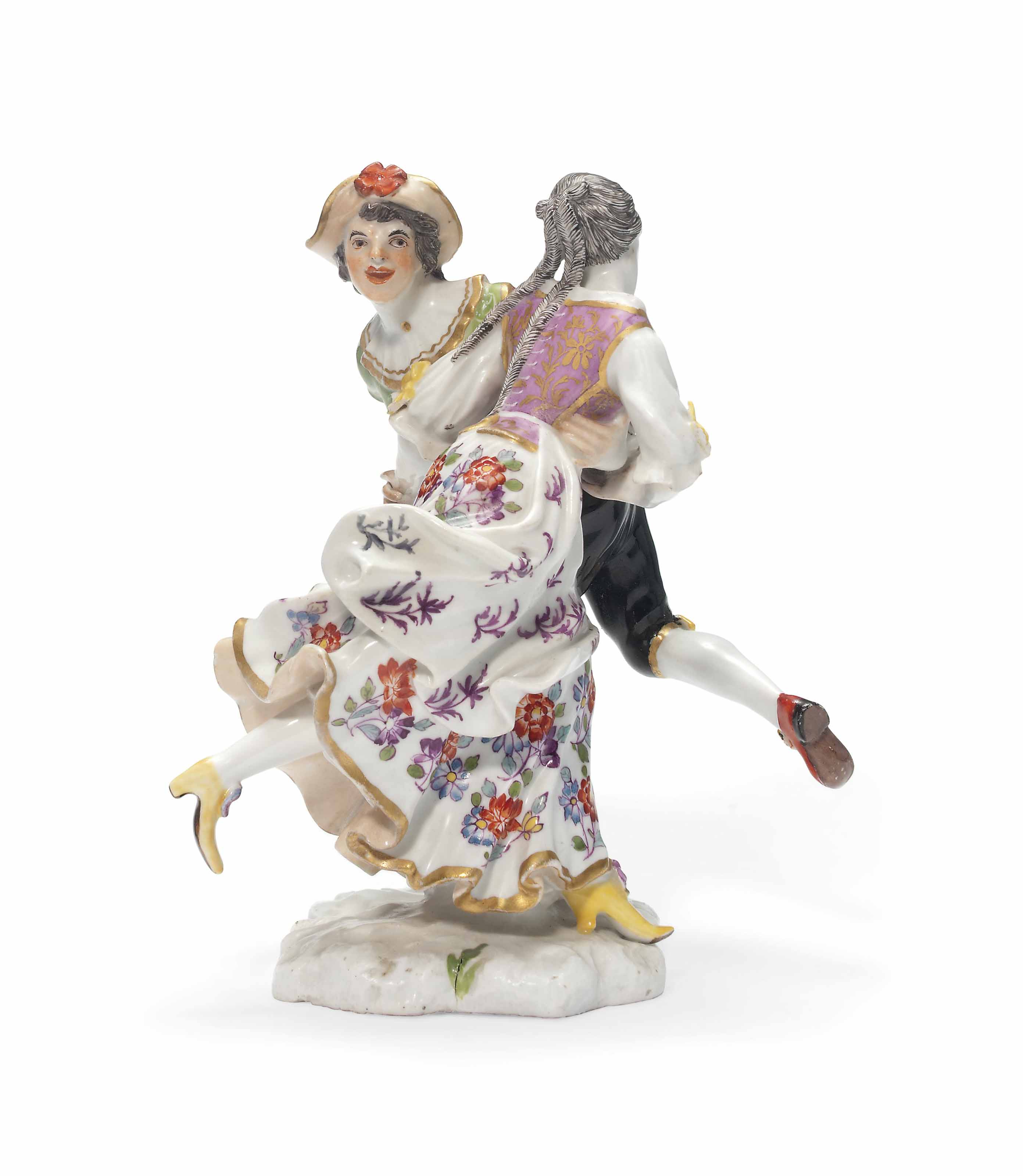 A MEISSEN GROUP OF THE TYROLEA