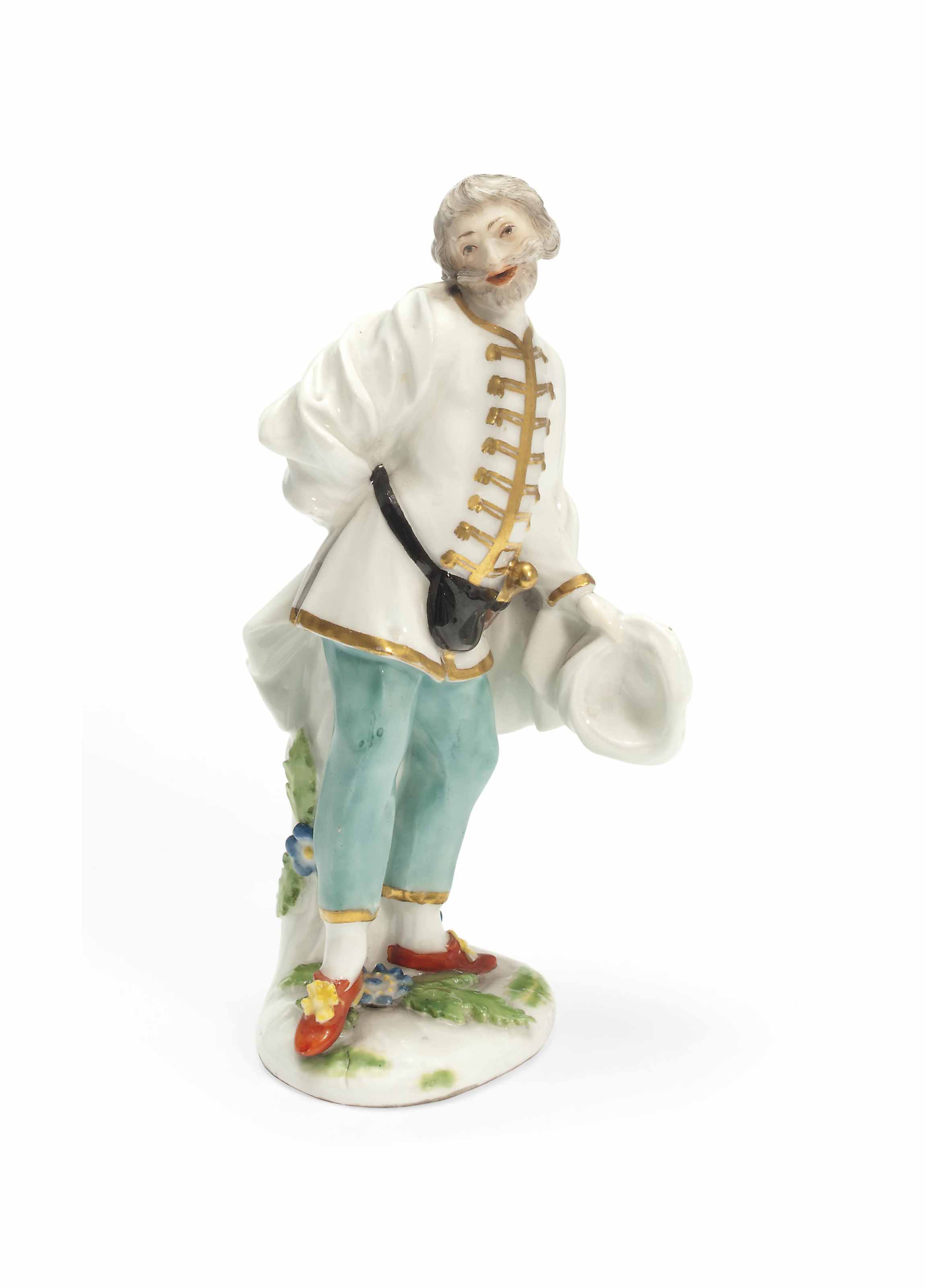 A MEISSEN MODEL OF SCAPIN FROM