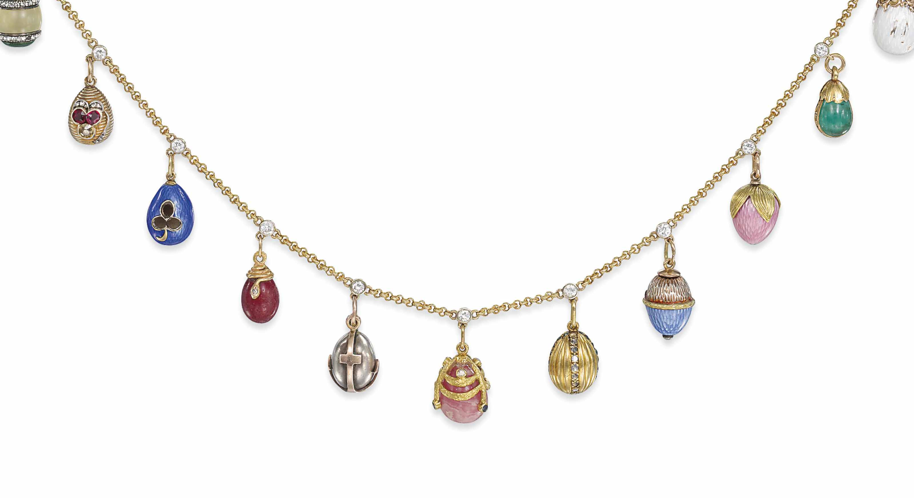 A JEWELLED, GOLD, SILVER, HARD