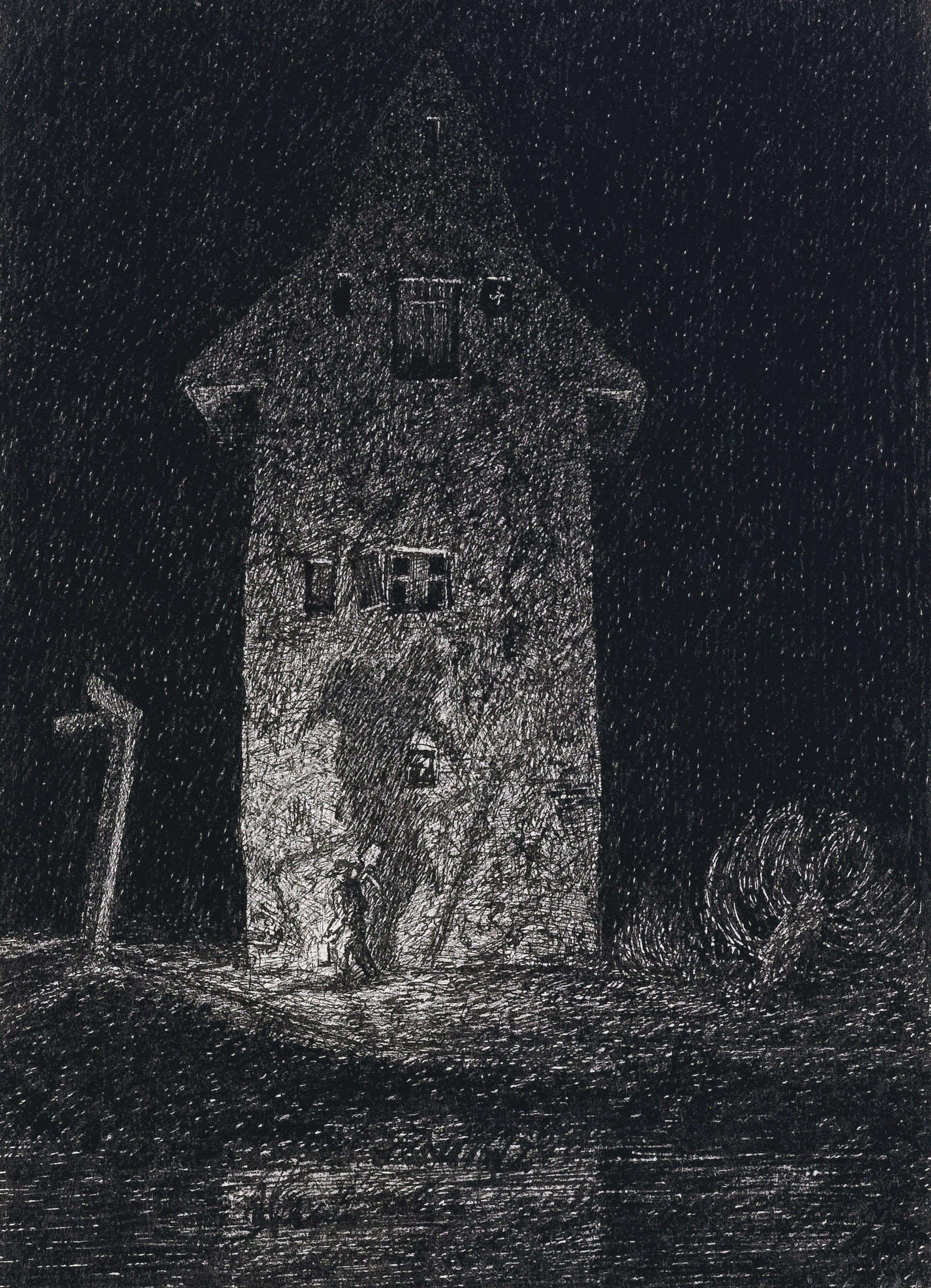 Phantasien über ein altes Haus