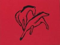 Zwei Pferdchen (Almanach-Vignette)