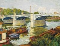 Pont sur la Seine à Paris