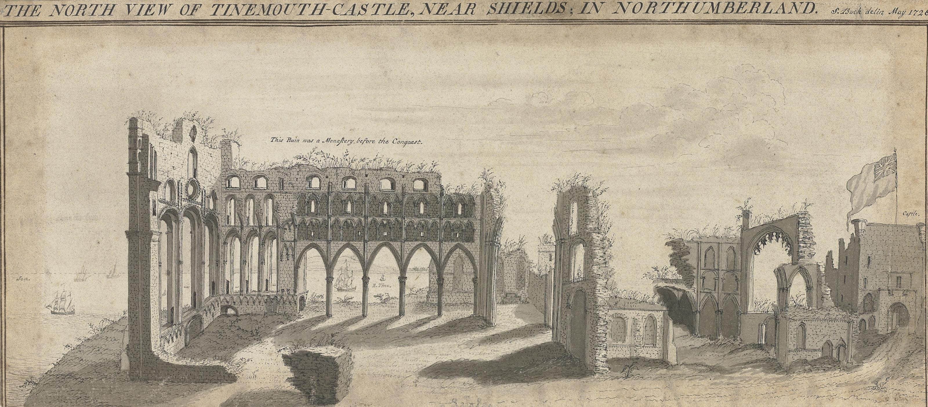 Tynemouth Castle, Northumberland