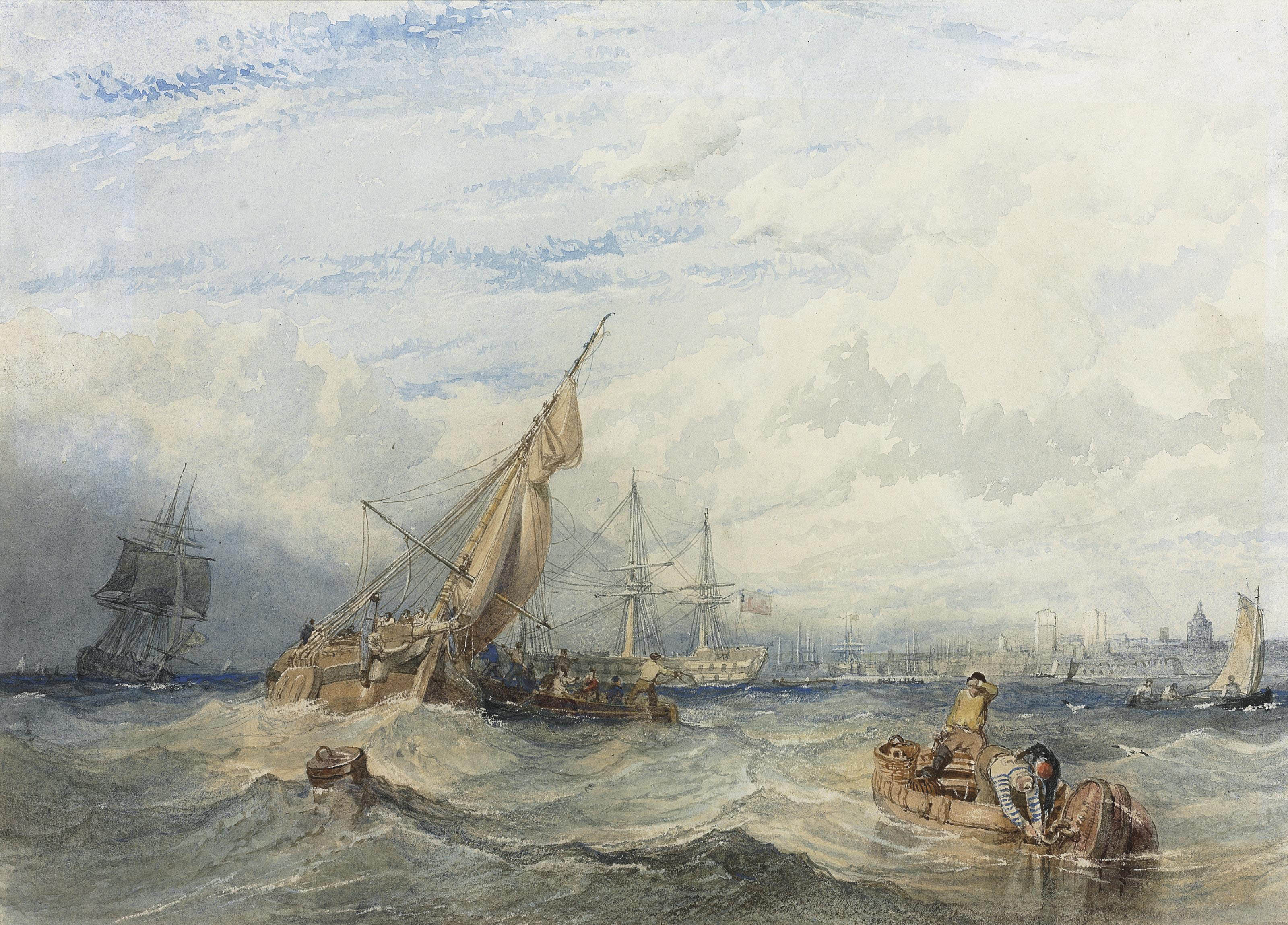 Shipping in Portsmouth harbour