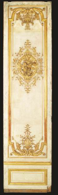 A LOUIS XV PARCEL-GILT AND CRE