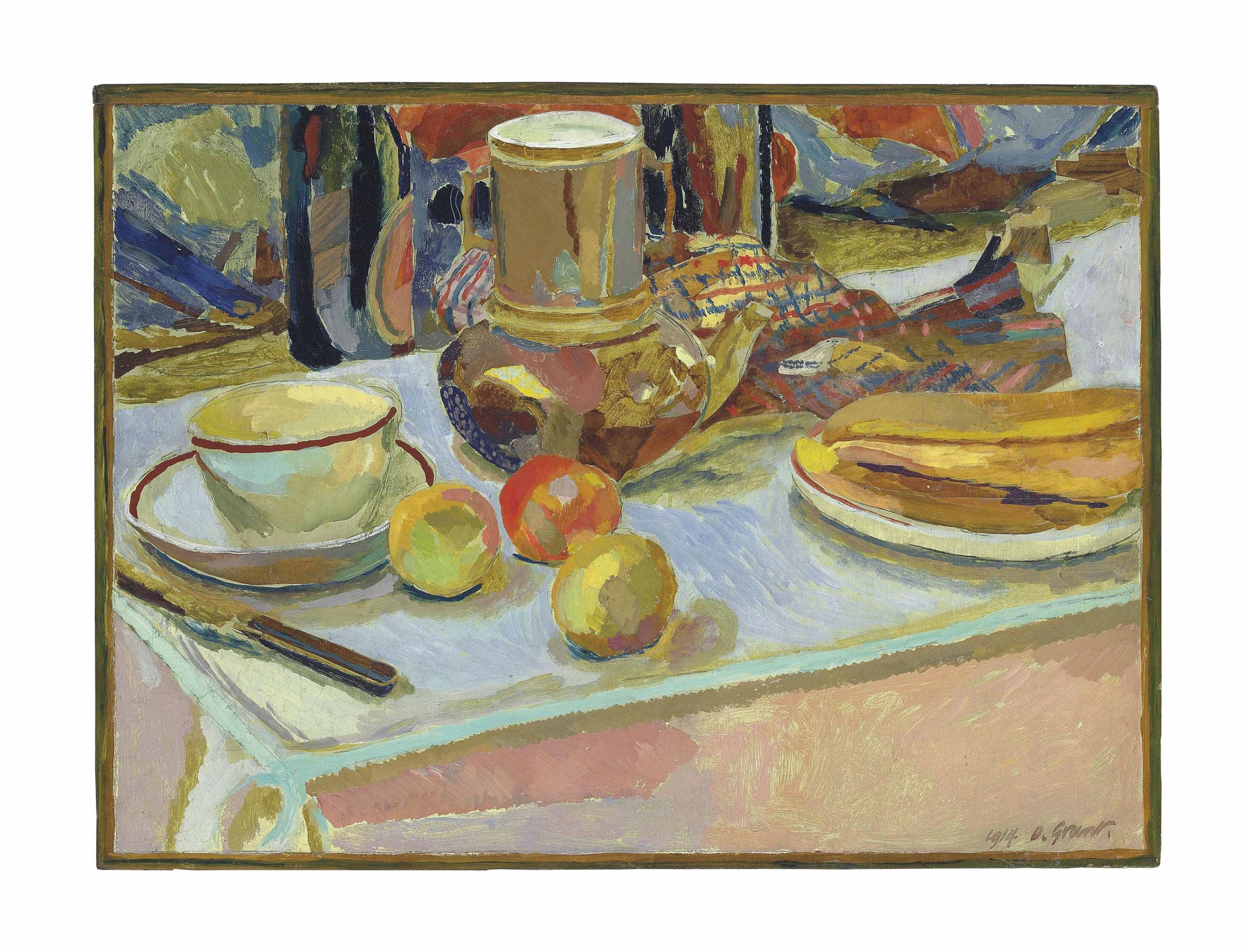 Still Life with Fruit and Coffee Pot