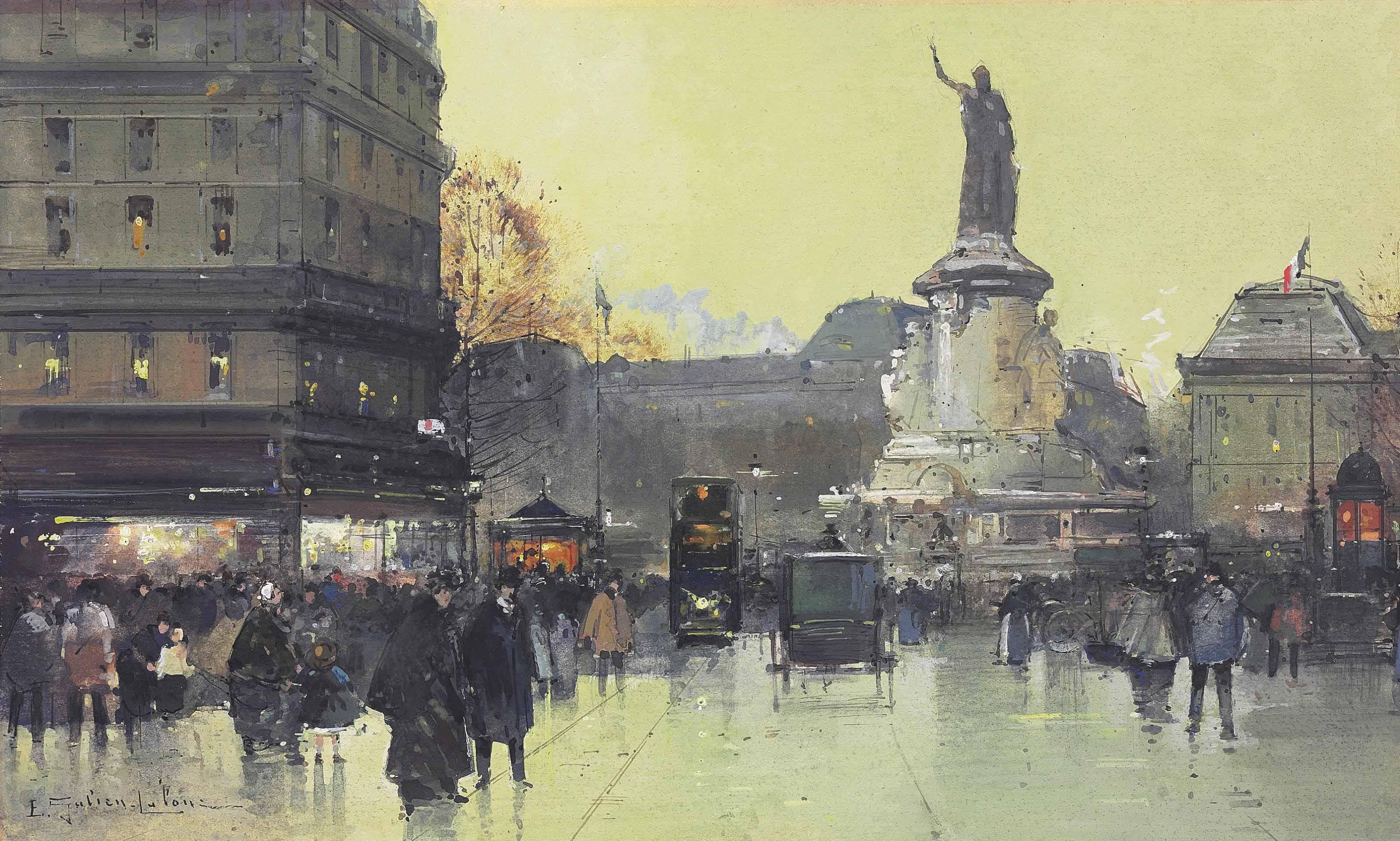 Place de la République, Paris