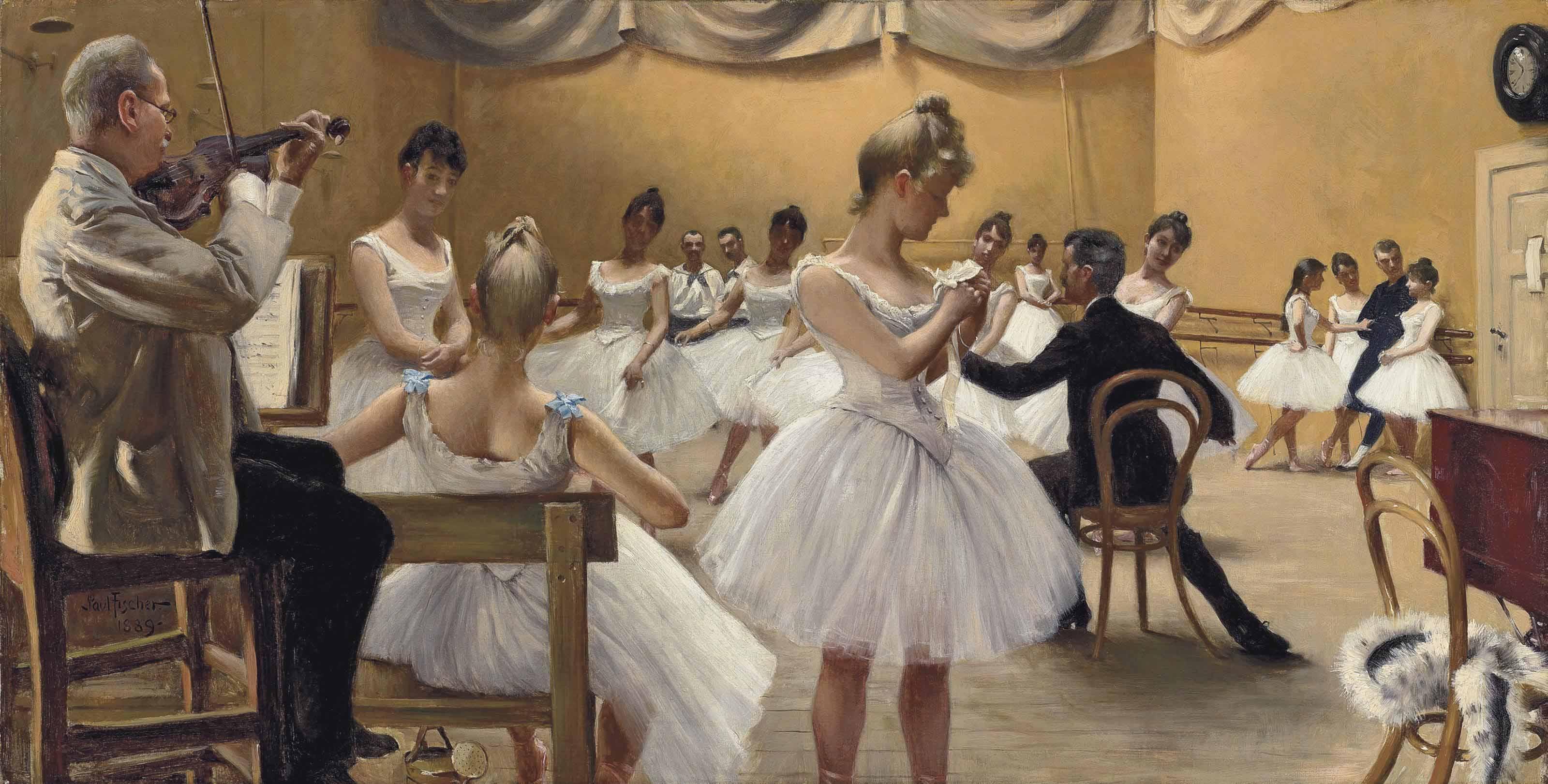 Audio: Paul Fischer, The Royal Theatre Ballet School, Copenhagen