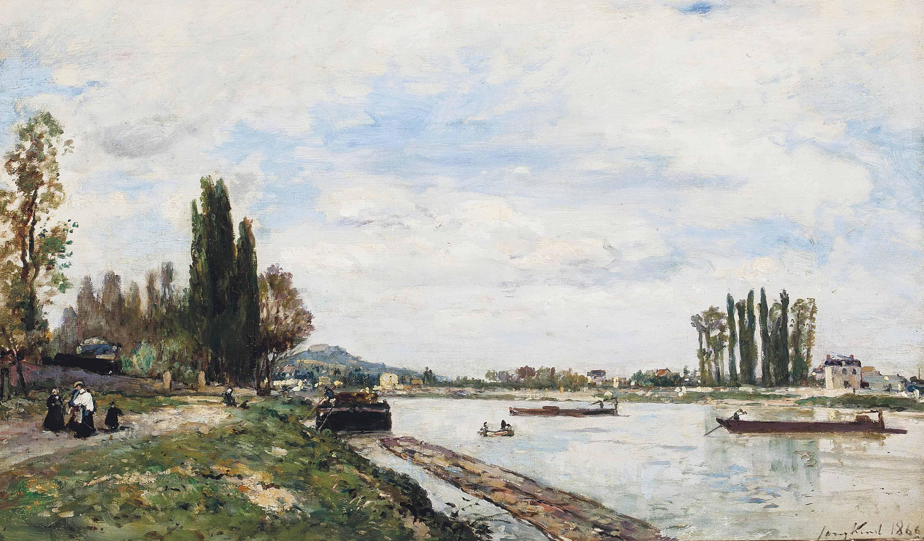 Vue de Meudon du Pont de Sèvres