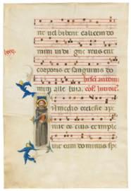 ST ANTHONY OF PADUA, historiat