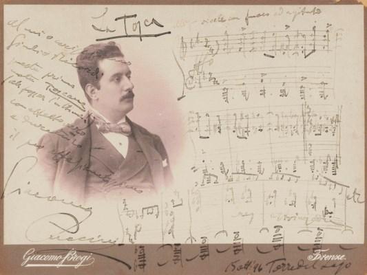 PUCCINI, Giacomo (1858-1924).