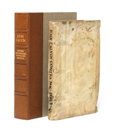 CALVIN, John (1509-1564). Defe