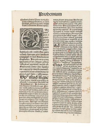 THOMAS AQUINAS (c.1225-74). De