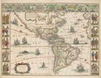 BLAEU, Willem (1571-1638) and Johannes BLAEU (1596-1673). Le Theatre du Monde ou Nouvel Atlas ... seconde partie. [Volume II. France, Spain, Asia, Africa and the Americas]. Amsterdam: Johannes and Cornelius Blaeu, 1640 [but 1643-1645].