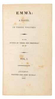 AUSTEN, Jane (1775-1817). Sens