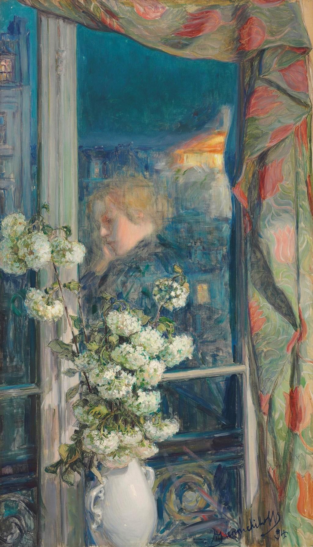 Maria Iakunchikova (1870-1902) Reflection of an intimate world