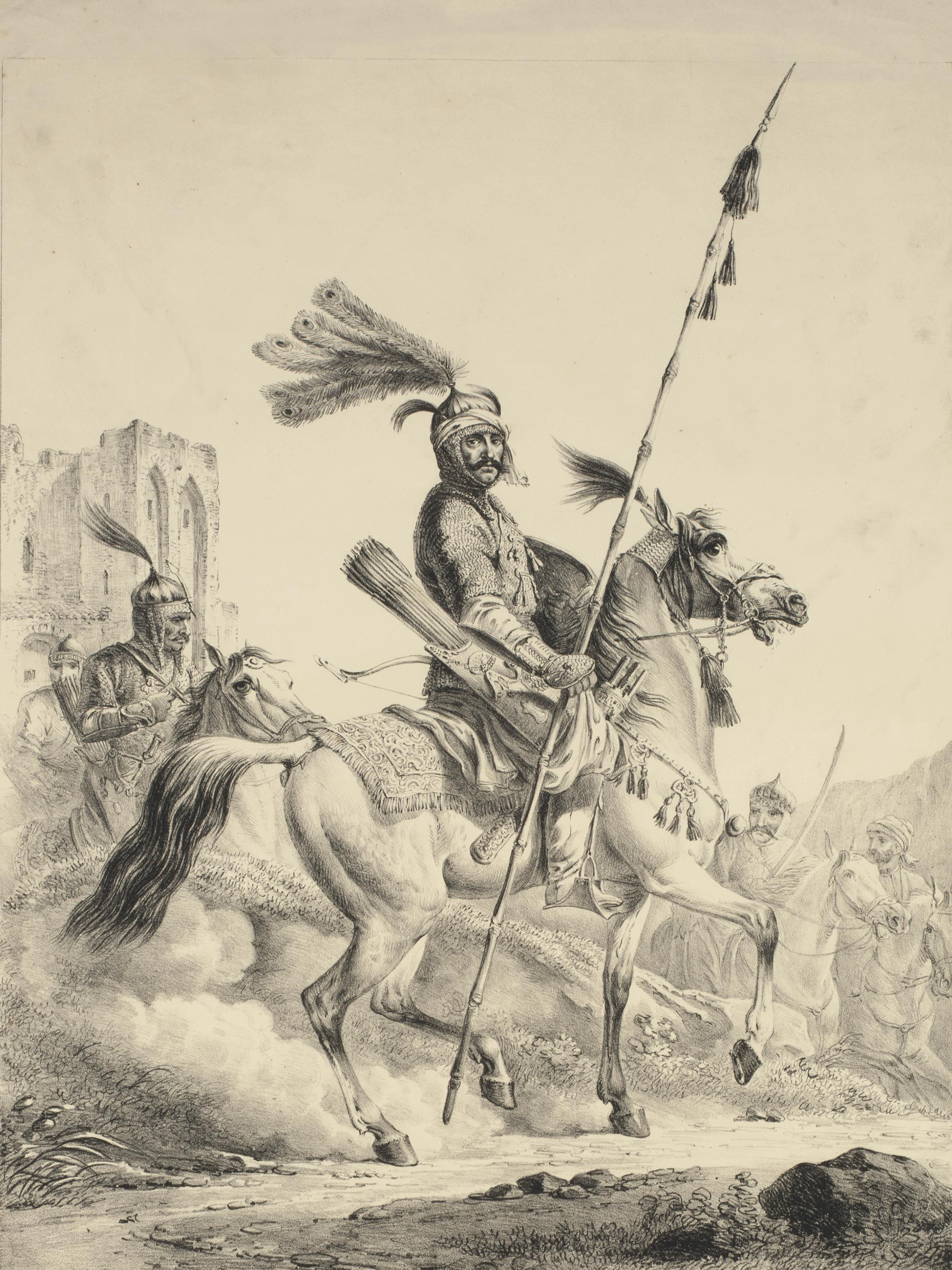 A Chief of the Kurds