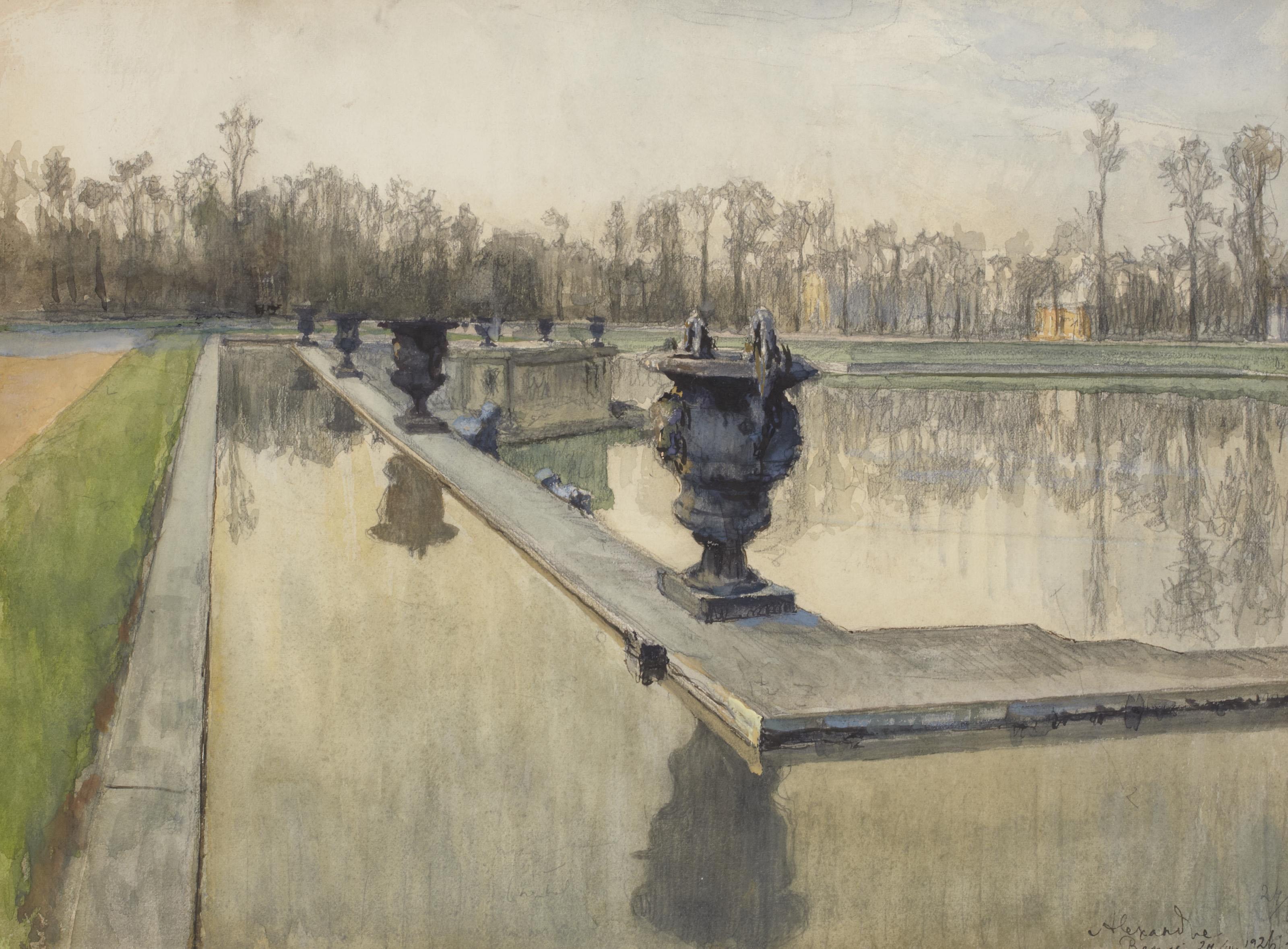 Alexandre Benois (1870-1960) Bassin de Neptune, Versailles