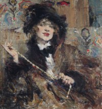Portrait of Mademoiselle Podbelskaya