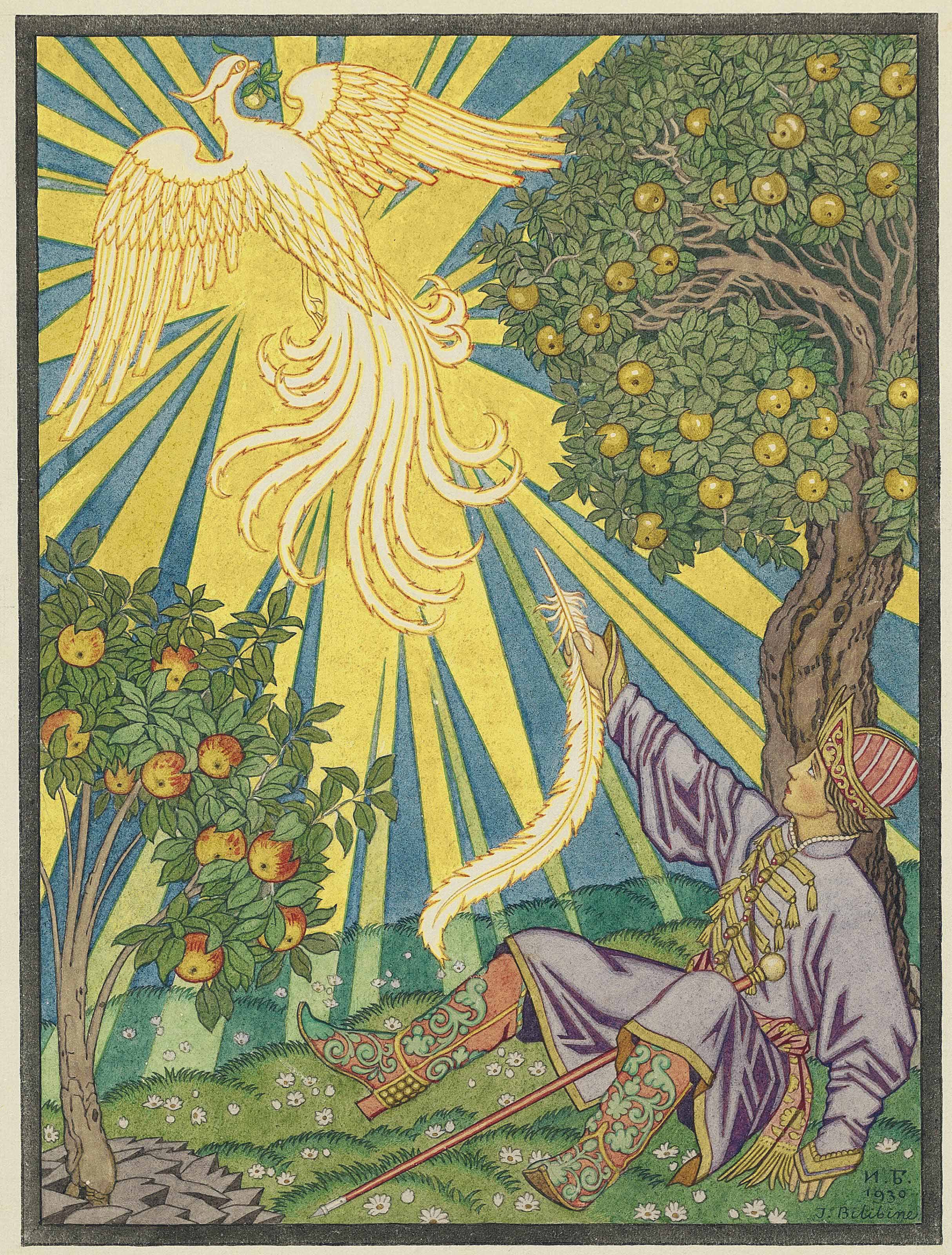 Illustration for Contes de l'isba: Ivan-Tsarevich and the Firebird