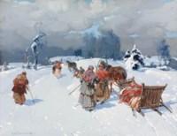 Homeward in winter