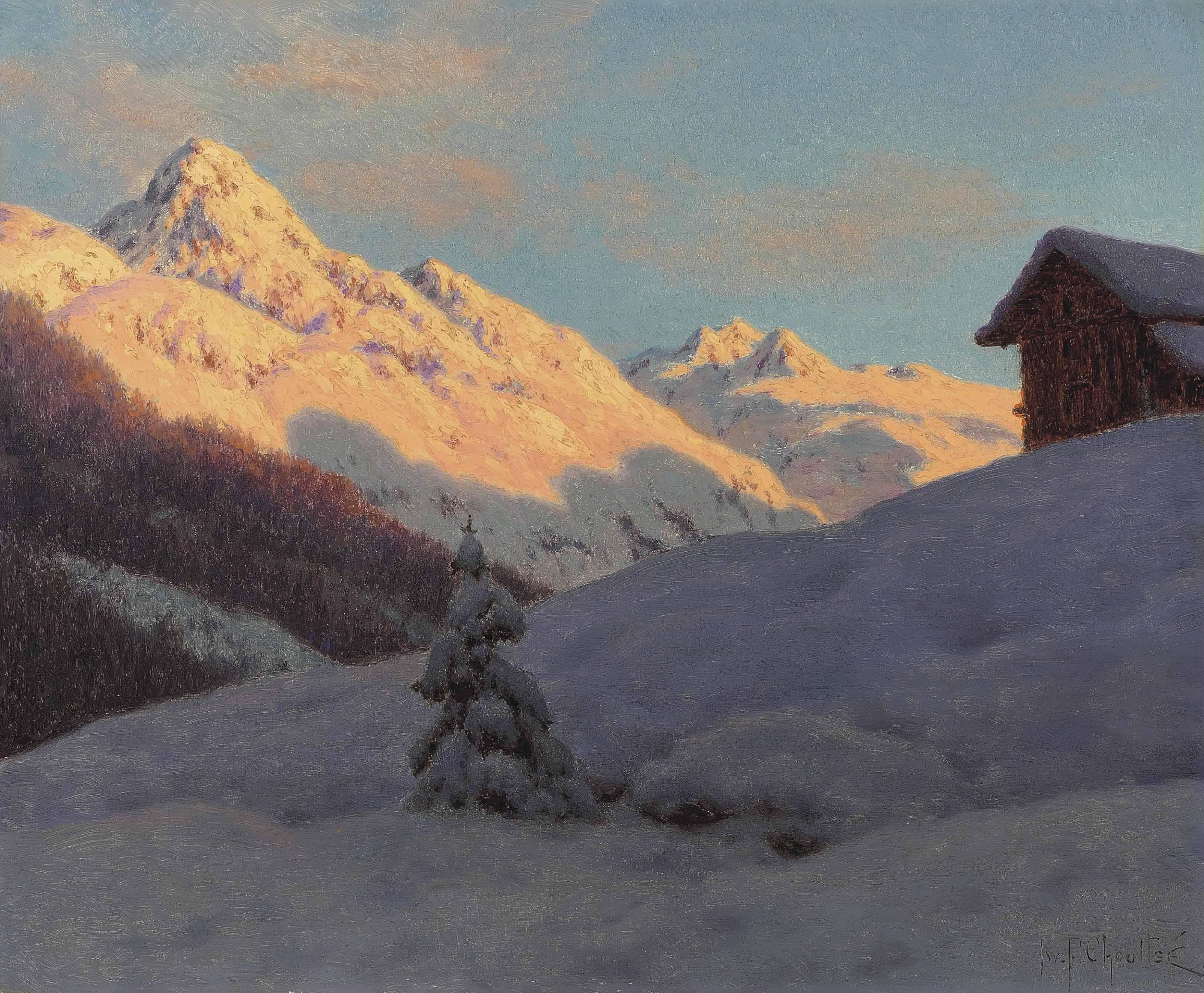 Peaks in the Engadine