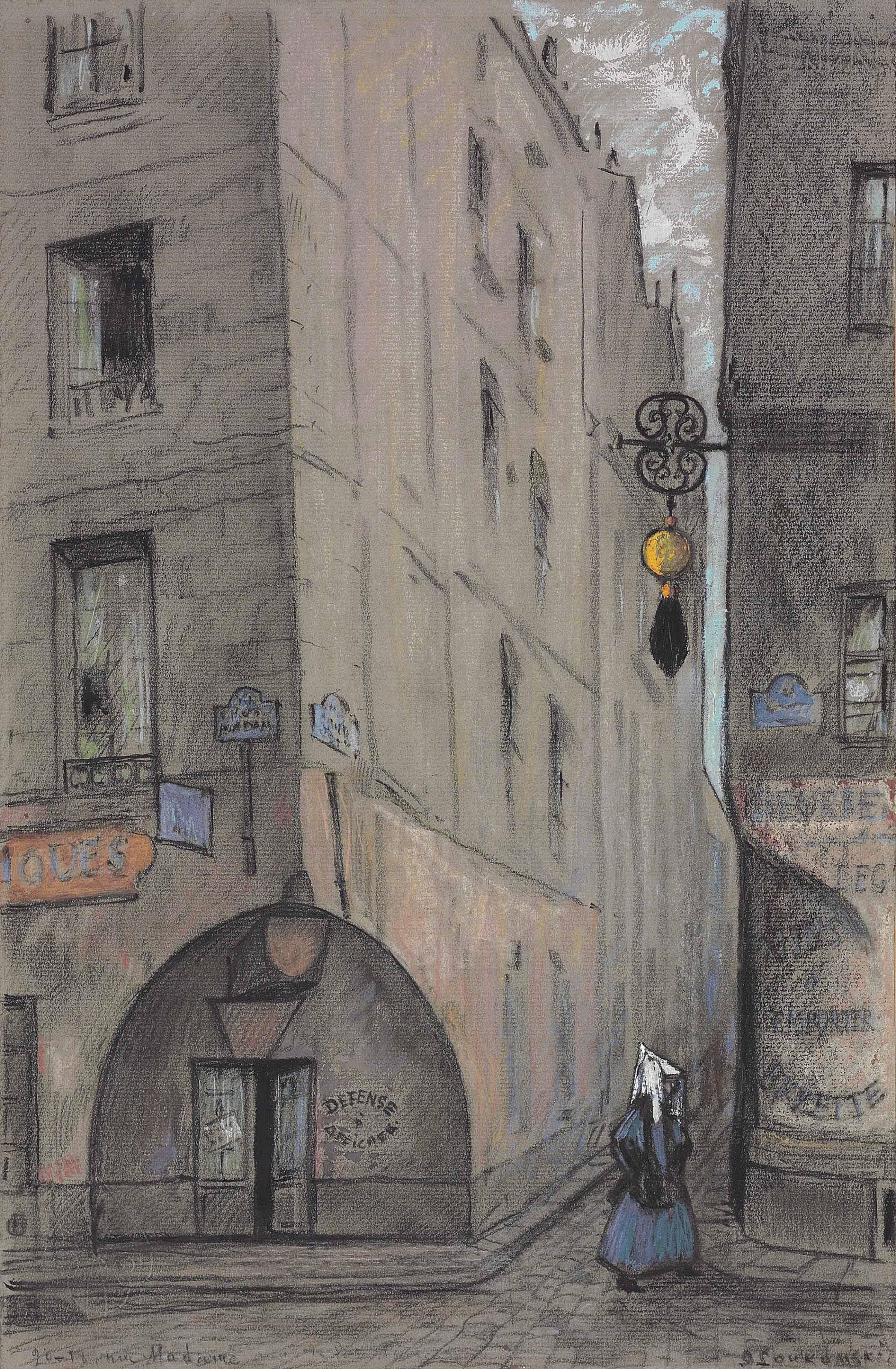 Georges Lukomsky (1884-1954) 20-18 Rue Madame, Paris