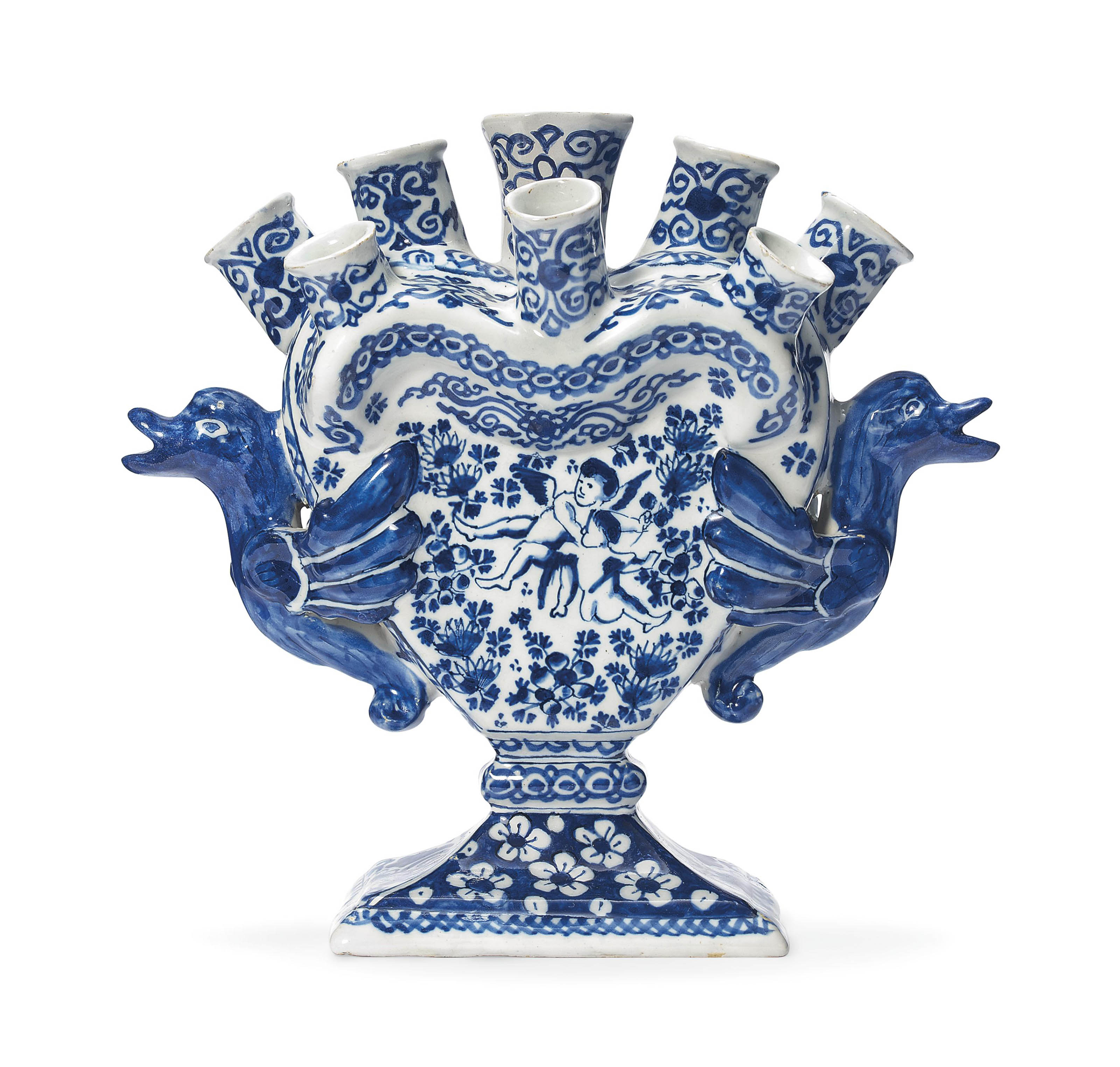 A dutch delft blue and white tulip vase first half of the 18th a dutch delft blue and white t reviewsmspy