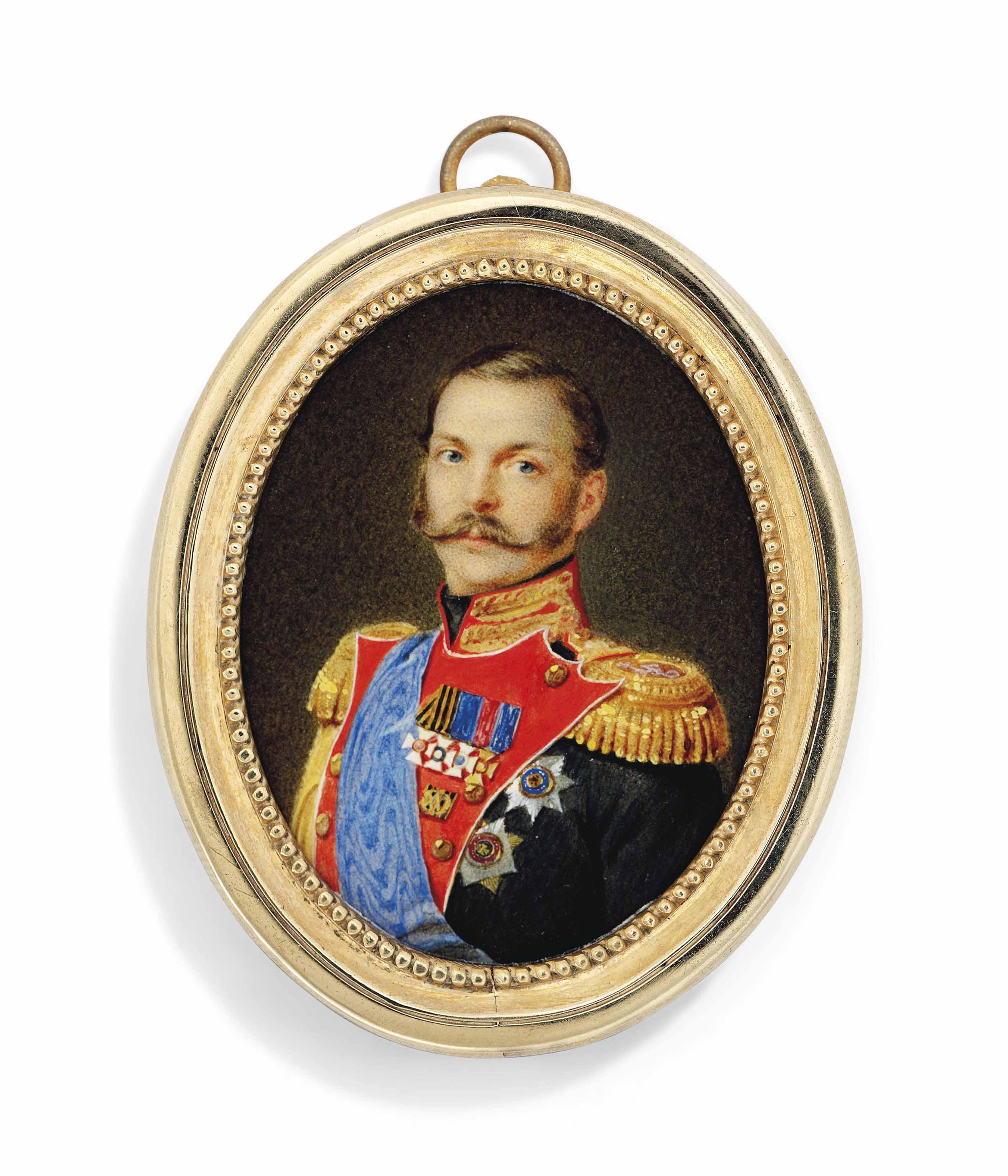 ATTRIBUTED TO ALOIS GUSTAV ROCKSTUHL (RUSSIAN, 1798-1877)
