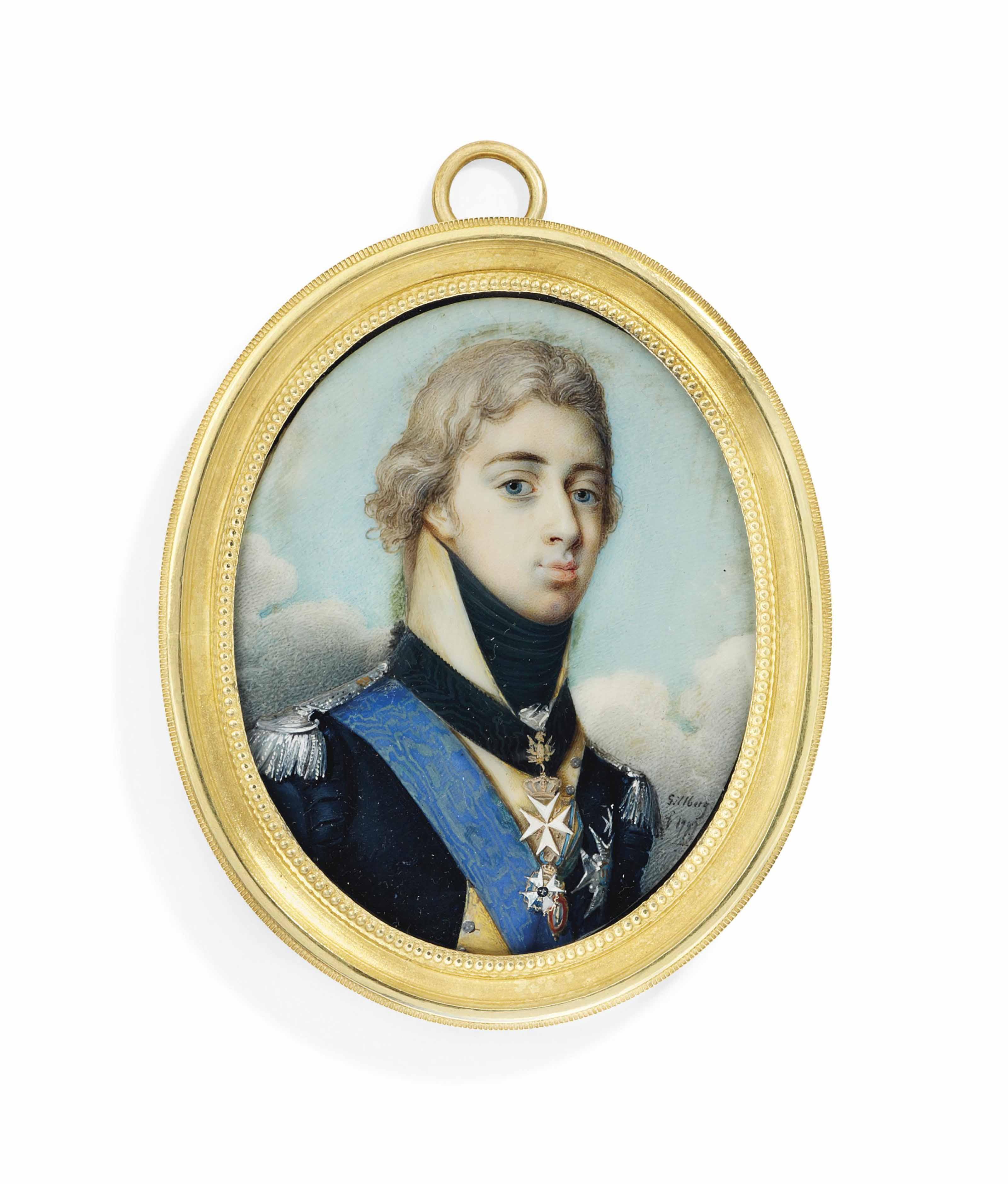 JACOB AXEL GILLBERG (SWEDISH,