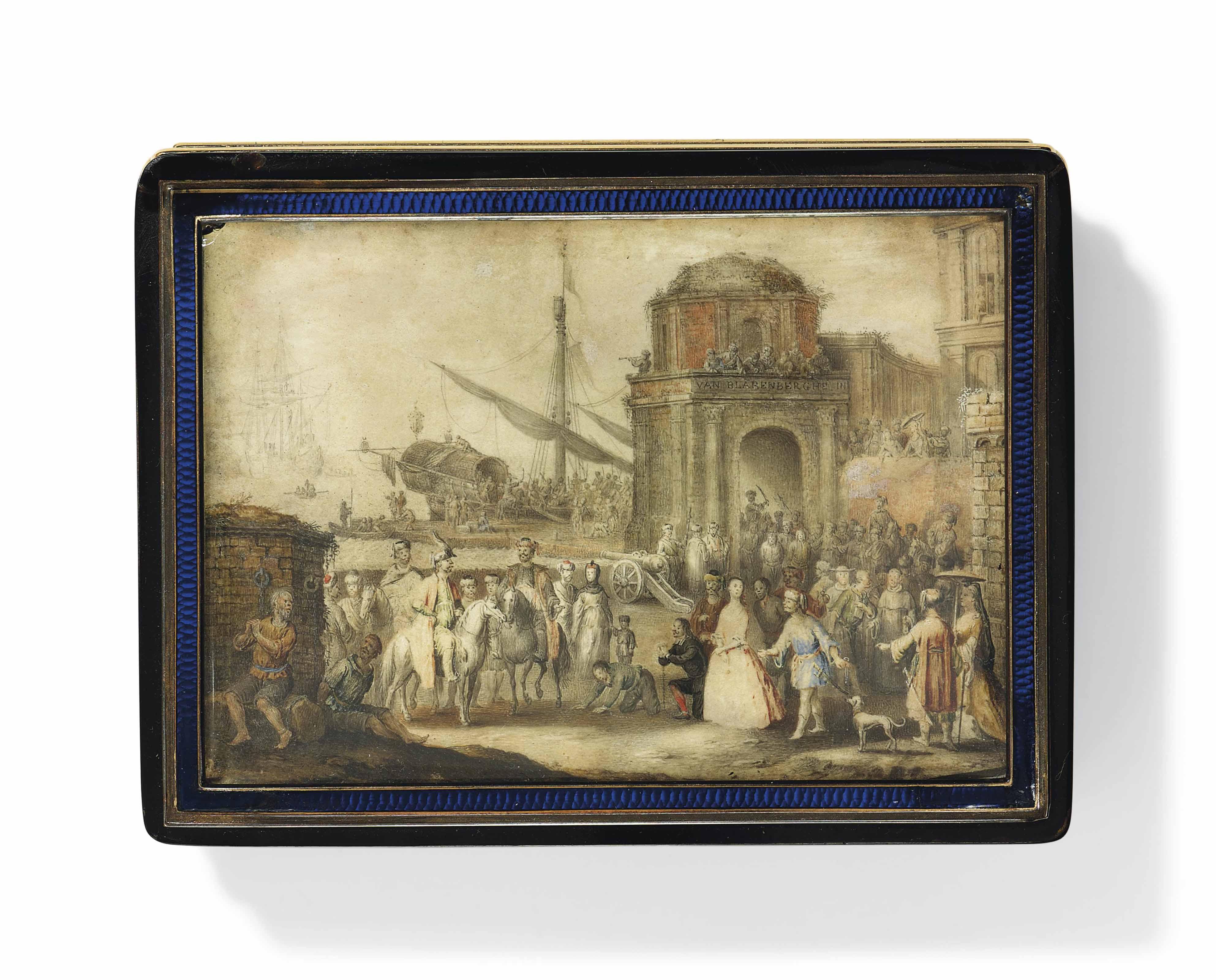 ATTRIBUTED TO LOUIS-NICOLAS VAN BLARENBERGHE (FRENCH, 1716-1794)