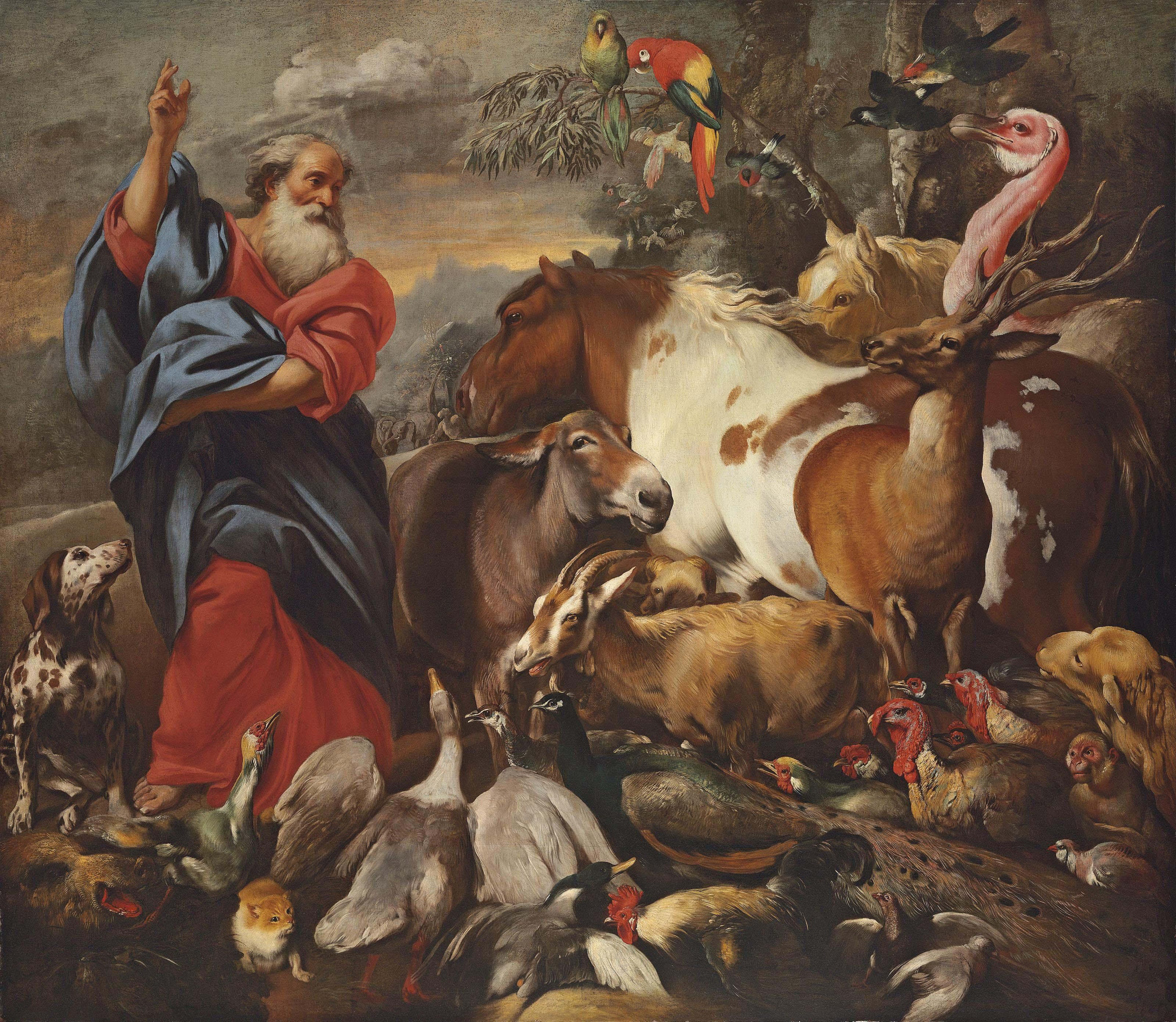 Giovanni Francesco Castiglione (Genoa 1641-1710)